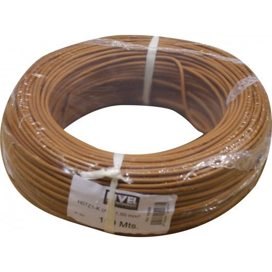 CABLE FLEXIBLE 1.5MM MARRON