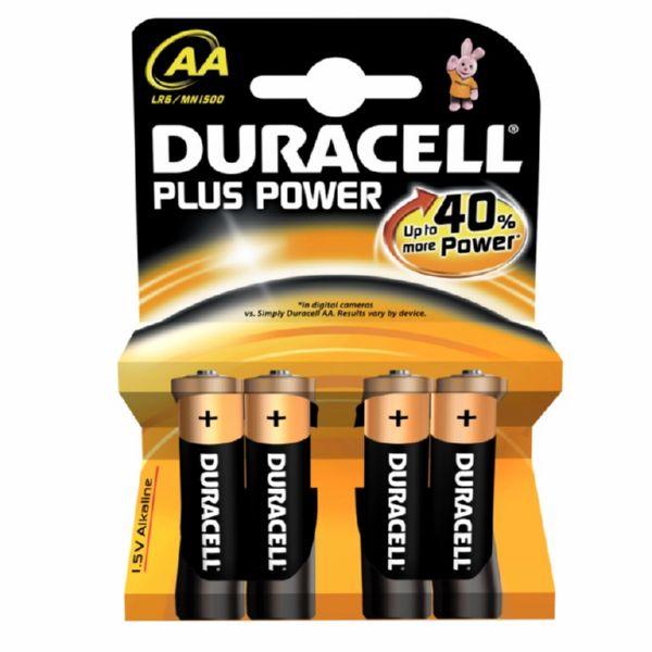 PILA DURACELL PLUS POWER (AA4)