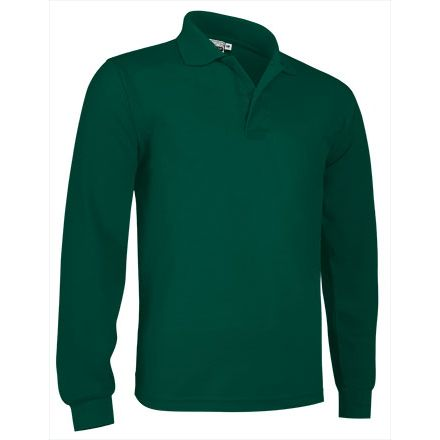 POLO MANGA LARGA GC VERDE BOTELLA T-3XL
