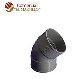 PVC CODO M-H 45º-110