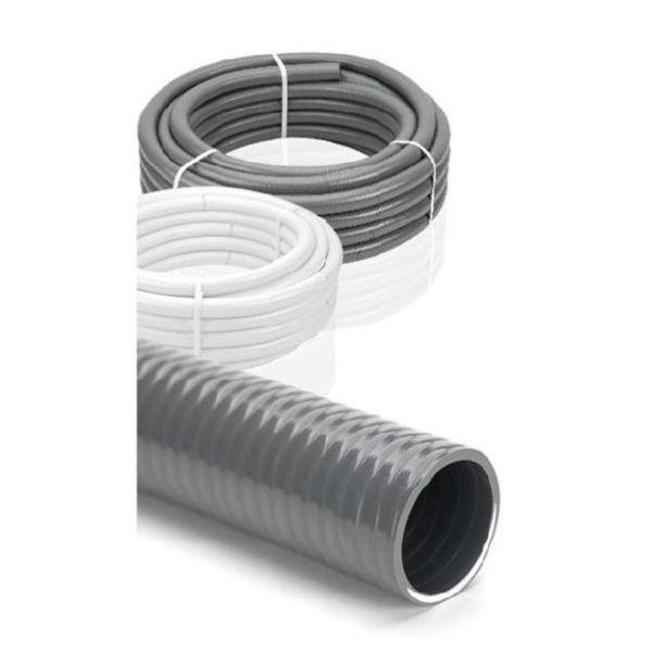 PVC TUBO SEMIRIGIDO 40 BLANCO pvp mt